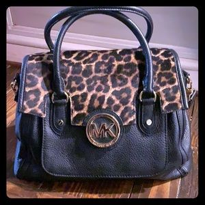 Michael Kors Leopard & leather